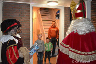Prijswinnaars Sinterklaaskleurwedstrijd